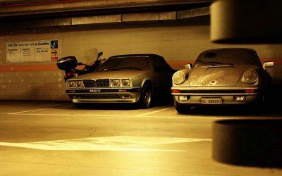 Verlaten Porsche Targa & Maserati BiTurbo