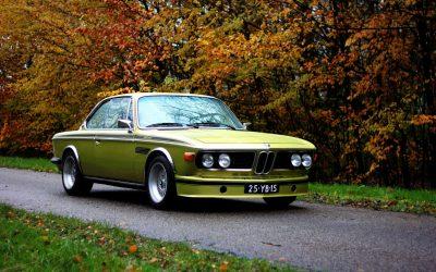De BMW CSL 3.0 is een homologatie special om mee te racen.