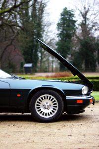 jaguar xjs 4 0 green groen garage caspers parked in holland. Black Bedroom Furniture Sets. Home Design Ideas