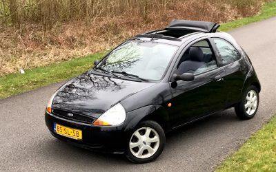 Verkocht: Ford Ka 1.3 Vouwdak