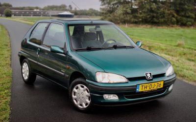 Verkocht: Peugeot 106 Automaat