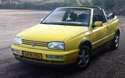 Verkocht: Volkswagen Golf III Cabrio