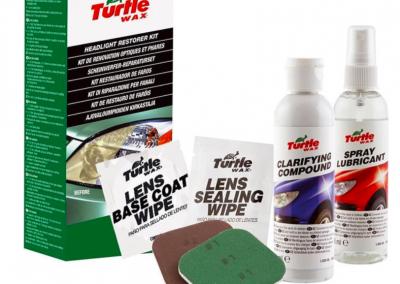 Turtle Wax Headlight Lens Restorer Kit – Lampenreiniger