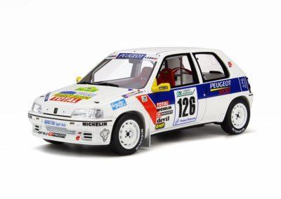 Peugeot 106 Rallye Gr. N 1997 Rallye Vins-Mâcon – S. Loeb / C. Schneider 1:18 Ottomobile